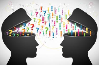Bild eines Webconsulting zwischen Kunden und Berater